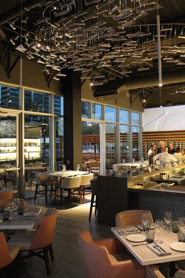 Peska seafood culture debuts a restaurant market concept - Interior design schools in houston ...