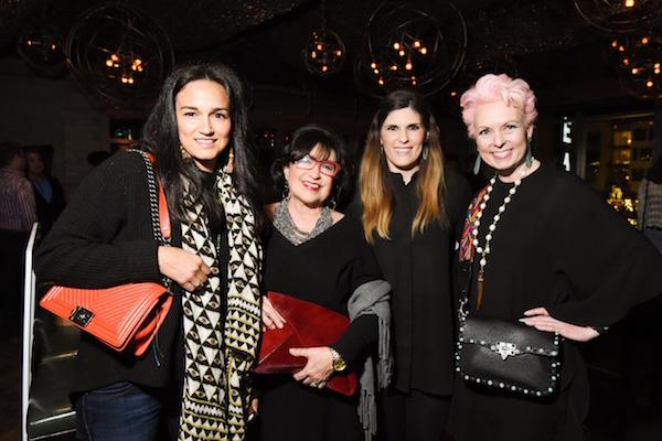Carla Valencia, Roz Pactor, Crystin Pactor, Vivian Wise