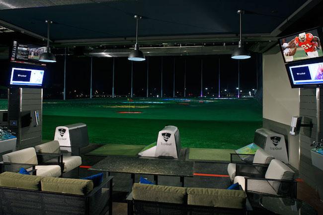 Top Golf, Hoston, TX, 1/2/13.