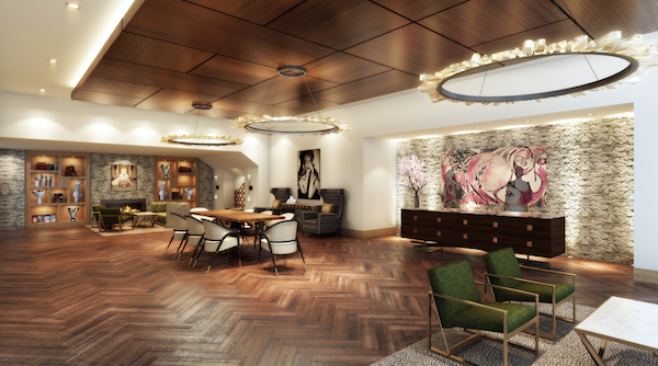 *Hotel ZaZa Memorial City Lobby_Renderings Courtesy of MetroNational