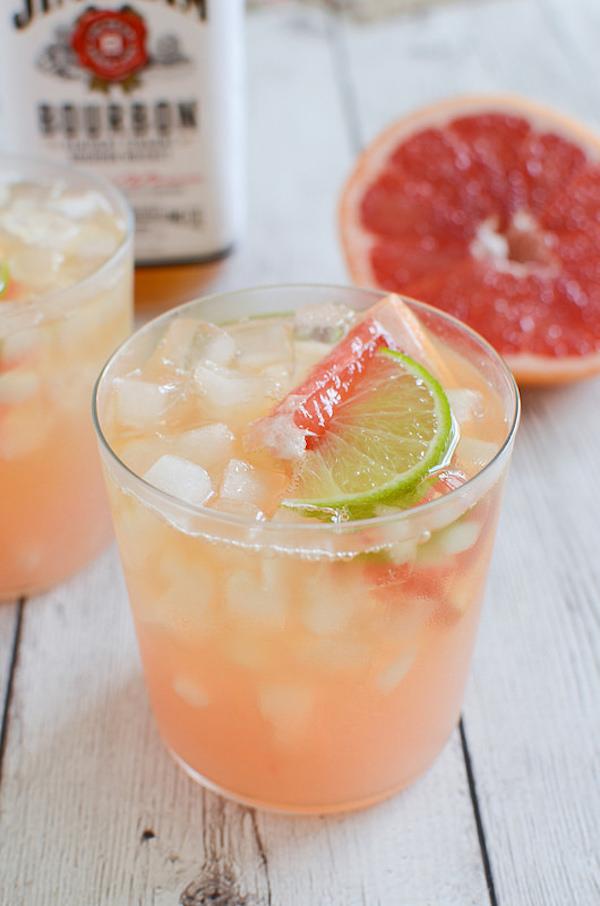 Grapefruit Ginger Bourbon