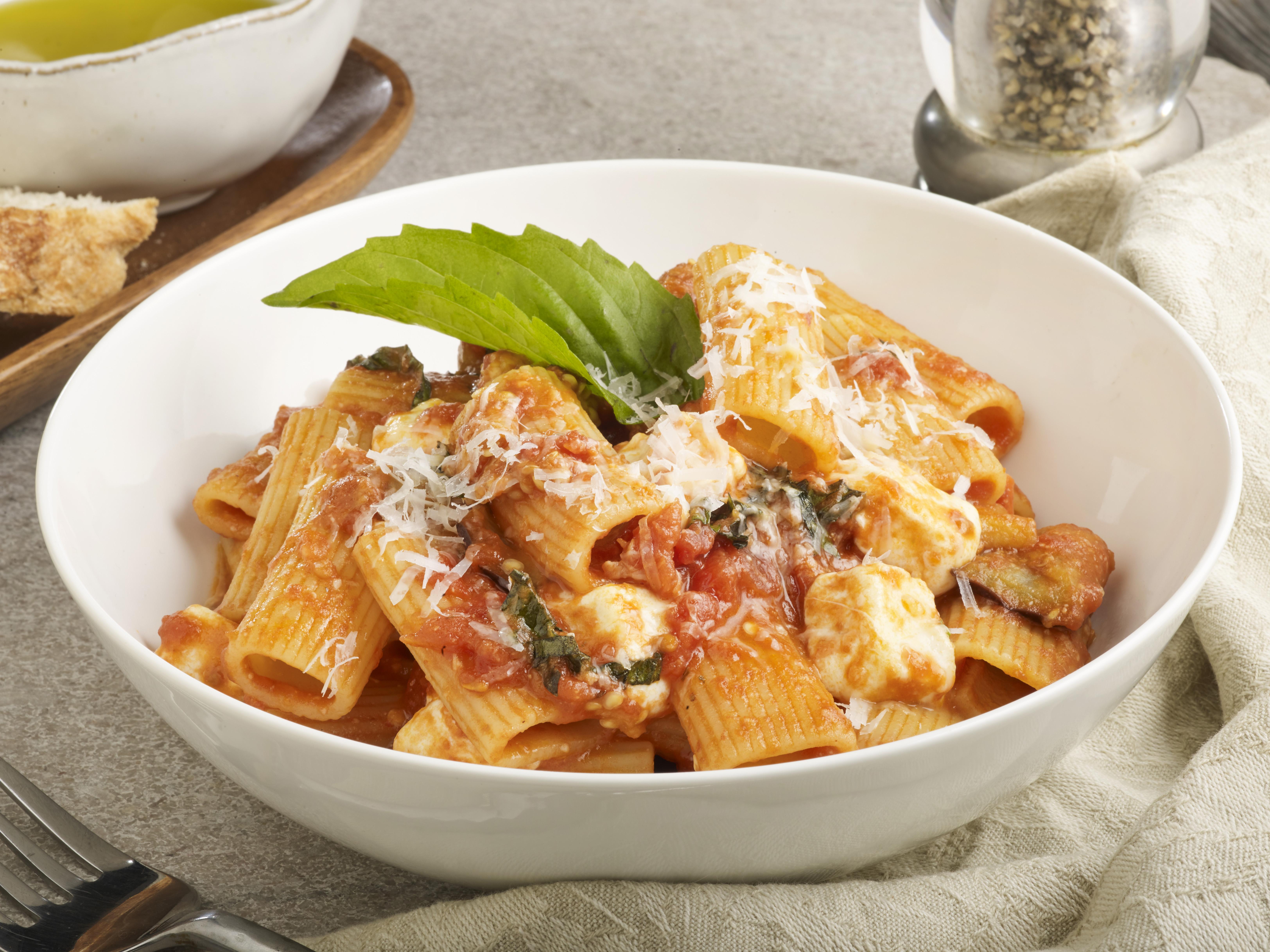 *Rigatone alla Norma | fried eggplant, tomato, fresh mozzarella, basil